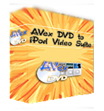 Avex DVD to iPod Video Suite last ned